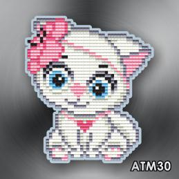 "АТМ30. Magnet baby ""Kitty"""