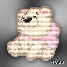 """АТМ33. Magnet baby """"Bear"""""""