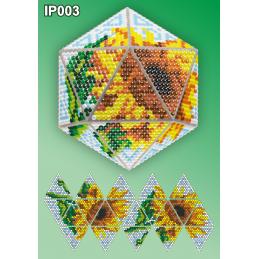 IP003. 3d Christmas ball...