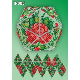 IP005. 3d Новогодний шар...