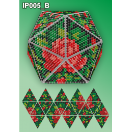 IP005_B. 3d Christmas ball...