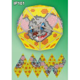 IP101. 3d Christmas ball...