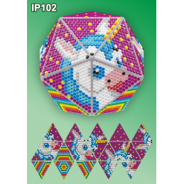 IP102. 3d Christmas ball...