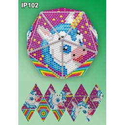 IP102. 3d Новогодний шар...