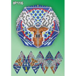 IP116. 3d Новогодний шар...