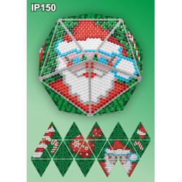 IP150. 3d Christmas ball...