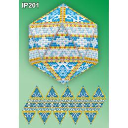 IP201. 3d Christmas ball...