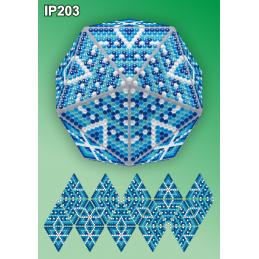 IP203. 3d Новогодний шар...