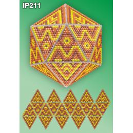 IP211. 3d Новогодний шар...