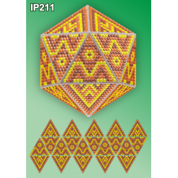 IP211. 3d Новорічна куля...