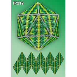 IP212. 3d Christmas ball...