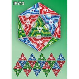 IP213. 3d Christmas ball...