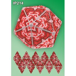 IP214. 3d Новогодний шар...