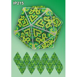 IP215. 3d Christmas ball...