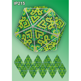 IP215. 3d Новогодний шар...