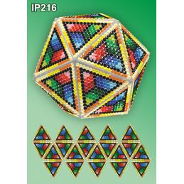 IP216. 3d Christmas ball...