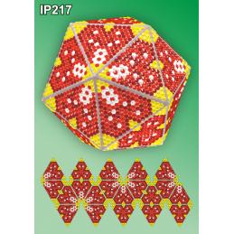 IP217. 3d Christmas ball...