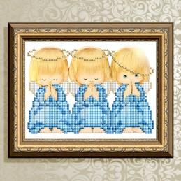 VKA5009. Три ангелочка