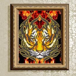 VKA4012. Огненный тигр