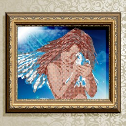 VKA4022. Angel with dove