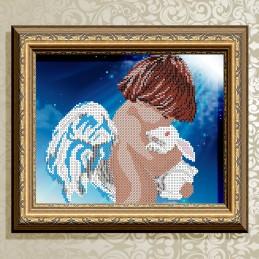 VKA4023. Ангел с кроликом