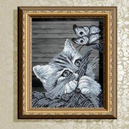 VKA4058. Cat in a basket