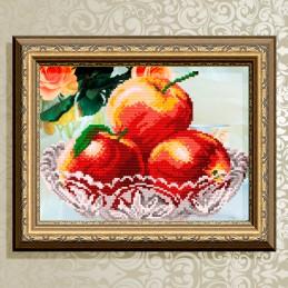 VKA4204. In crystal. Apples