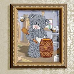 VKA4410. Bear with honey