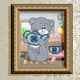 VKA4411. Ведмідь з чайником