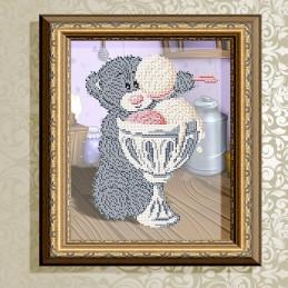 VKA4414. Мишка с мороженным