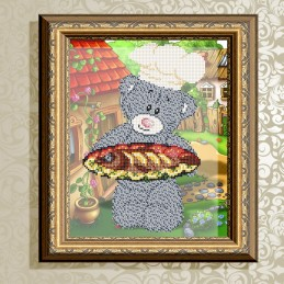 VKA4417. Bear with fish