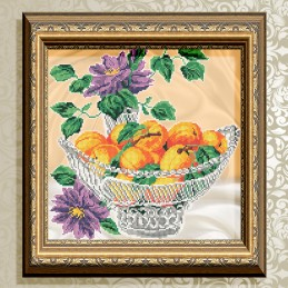 VKA4704. Apricots in crystal