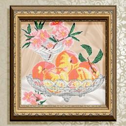 VKA4706. Персики в кришталі