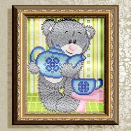АТ5532. Мишка с чайником