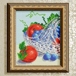 АТ5549. In crystal. Grapes...