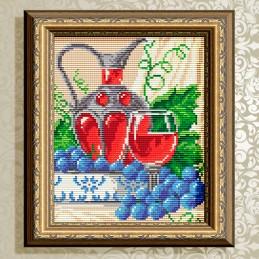 АТ5556. Вино в бокале