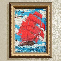 AT3002. Scarlet Sails