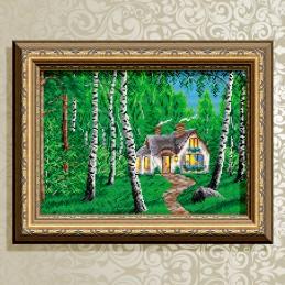 AT3015. Будиночок в лісі
