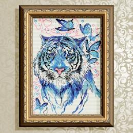 AT3024. Тигр синій