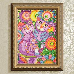 AT3032. Cats lovebird