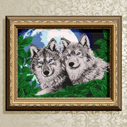 VKA3049. Wolves in the...