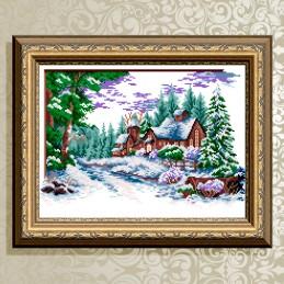 VKA3056. Winter village