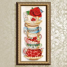 VKA3082. Cup with rose