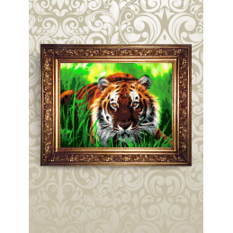 NMK004. «Тигр на траві»....