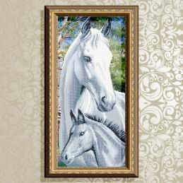 VKA3097. Лошадь с жеребенком