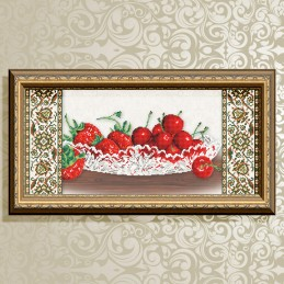 VKA3119. Crystal. Cherries...