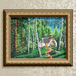 VKA3124. Будиночок в лісі