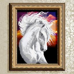 VKA3134. Белая лошадь