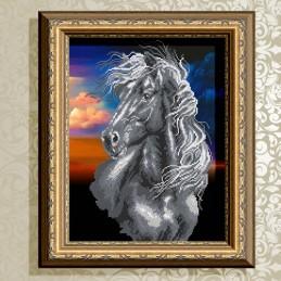 VKA3135. Черный Конь