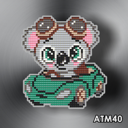 "АТМ40. Magnet baby ""Koala car"""